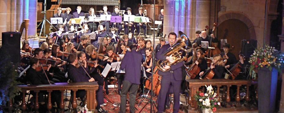 Orchestre des Jeunes de Strasbourg, direction Sylvain Marchal