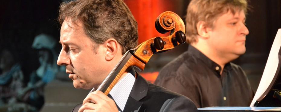 Marc Coppey, violoncelle et Peter Laul, piano