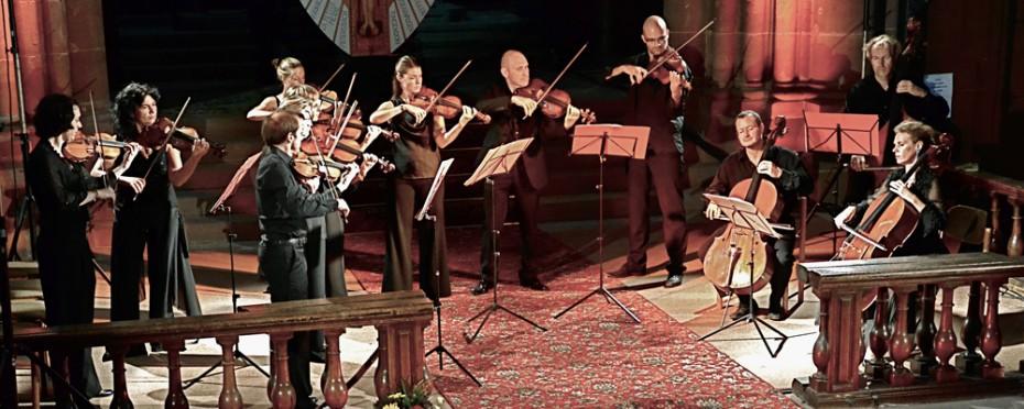 La Follia, orchestre de chambre d'Alsace, Hugues Borsarello, violon solo et direction musicale