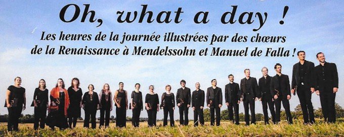 Ensemble Vocal Filigrane en concert le 9 novembre 2014