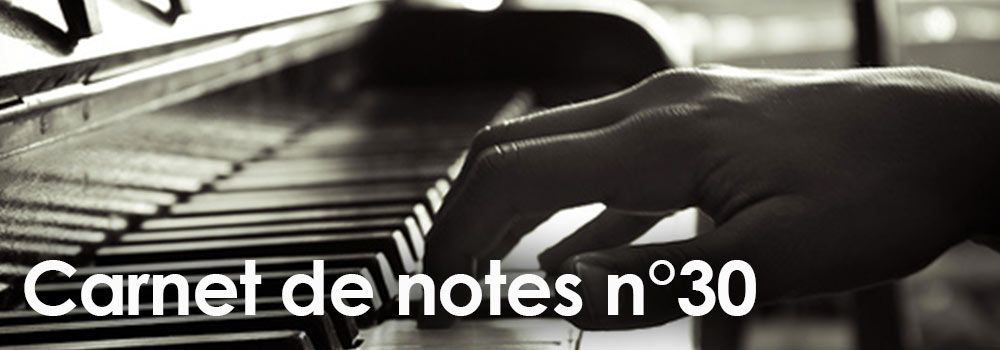Carnet de notes n°30 à télécharger …