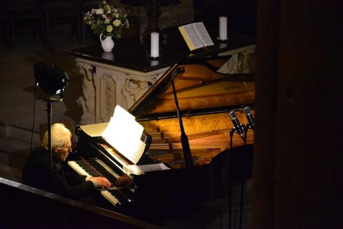 Daniel Spiegelberg au piano