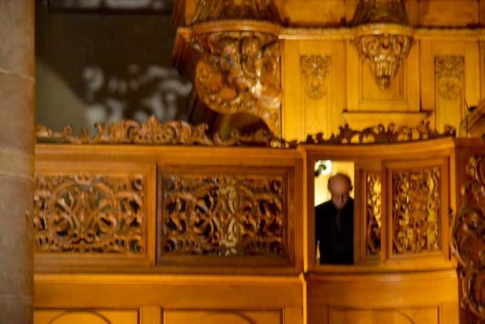 Daniel Leininger à l'orgue Silbermann